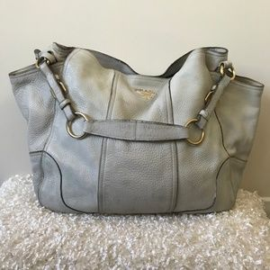 Prada Talco Antik Cervo Hobo Bag